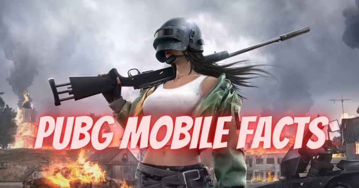 pubg mobie facts