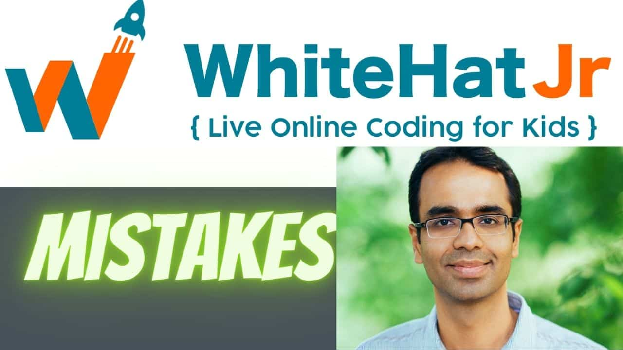 whitehat jr mistakes